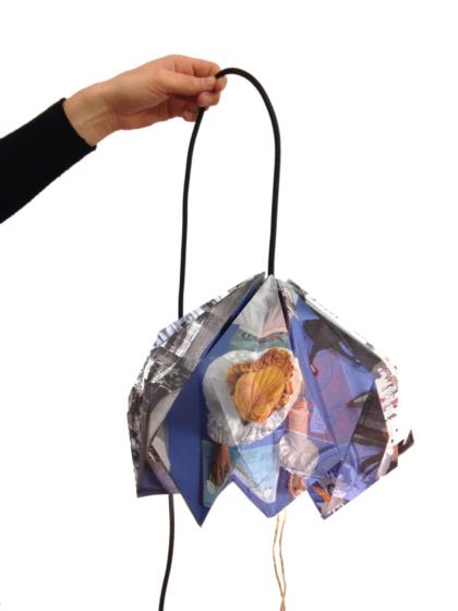 PIEGHE DI LUCE: DIY ORIGAMI LAMP!